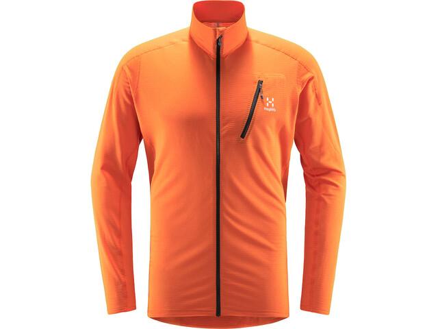 Haglöfs L.I.M Mid Jacket Men flame orange